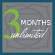 Three Month Unlimited Membership